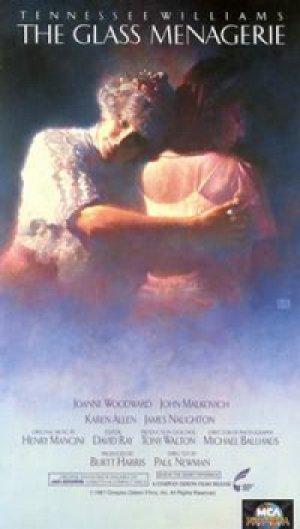 ガラスの動物園 【VHS】 ポール ・ニューマン 1987年 ジョアン・ウッドワード ジョン・マルコヴィッチ カレン・アレン 原作:テネシー・ウィリアムズ 音楽:ヘンリー・マンシーニ