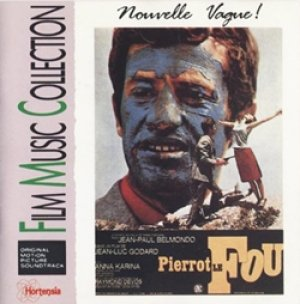 O.S.T. / PIERROT LE FOU 【CD】 スイス盤 廃盤 ゴダール 気狂いピエロ