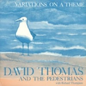 DAVID THOMAS & THE PEDESTRIANS with RICHARD THOMPSON / VARIATION ON A THEME  【LP】 GER SIXTH INTERNATIONAL