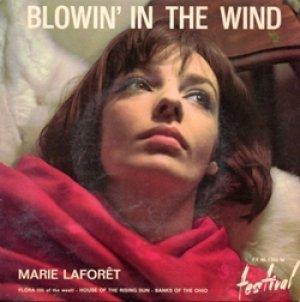 マリー・ラフォレ:MARIE LAFORET / BLOWIN' IN THE WIND + 3 【7inch】 EP FRANCE盤 FESTIVAL