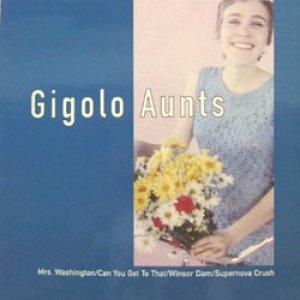 画像1: GIGOLO AUNTS / MRS. WASHINGTON 【12inch】 UK FIRE ホワイト・ヴィニール