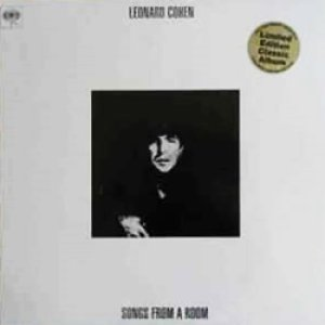 レナード・コーエン:LEONARD COHEN / SONGS FROM A ROOM  【LP】 新品 UK盤 LIMITED REISSUE 180g VINYL