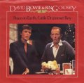 DAVID BOWIE & BING CROSBY / PEACE ON EARTH - LITTLE DRUMMER BOY 【7inch】 UK RCA ORG.