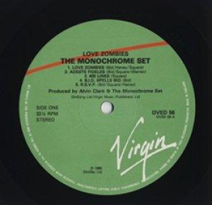 ザ・モノクローム・セット:THE MONOCHROME SET / LOVE ZOMBIES 【LP】 UK VIRGIN