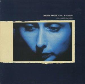 ダグマー・クラウゼ:DAGMAR KRAUSE / SUPPLY & DEMAND  SONGS BY BRECHT / WEILL & EISLER 【LP】UK盤 ORG.