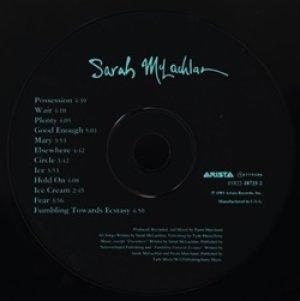 サラ・マクラクラン:SARAH McLACHLAN / FUMBLING TOWARDS ECSTASY 【CD】 US盤