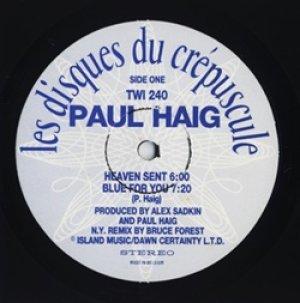 ポール・ヘイグ:PAUL HAIG / PAUL HAIG 【LP】 ベルギー盤 ORG. クレプスキュール