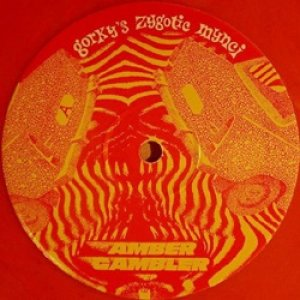 ゴーキーズ・ザイゴティック・マンキ:GORKY'S ZYGOTIC MYNCI / AMBER GAMBLER EP 【10inch】 UK盤 ORG. ANKST LIMITED AMBER VINYL