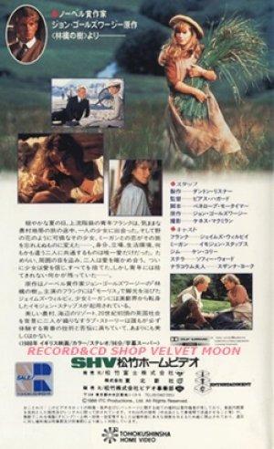 サマーストーリー 【VHS】 ピアーズ・ハガード 1988年 ジェームズ・ウィルビー イモジェン・スタッブス 原作:ジョン・ゴールズワージー 『林檎の木』イギリス映画