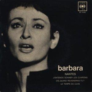 バルバラ:BARBARA / NANTES:ナントに雨が降る + 3 【7inch】 フランス盤 ORG.