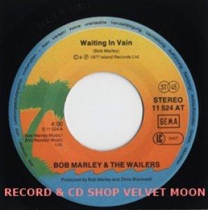 ボブ・マーリー&ザ・ウェイラーズ:BOB MARLEY & THE WAILERS / WAITING IN VAIN 【7inch】 ドイツ盤 ORG. ISLAND