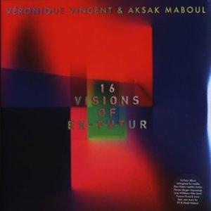 ヴェロニク・ヴァンサン&アクサク・マブール:VERONIQUE VINCENT & AKSAK MABOUL / 16 VISIONS OF EX-FUTUR【2枚組LP】新品 ベルギー盤 Crammed Discs