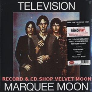 テレヴィジョン:TELEVISION / MARQUEE MOON 【LP】新品 ヨーロッパ盤 180g リマスター 再発盤