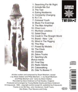 ヤング・マーブル・ジャイアンツ:YOUNG MARBLE GIANTS / COLOSSAL YOUTH【CD】 ベルギー盤 LES DISQUES DU CREPUSCULE ボーナストラック付