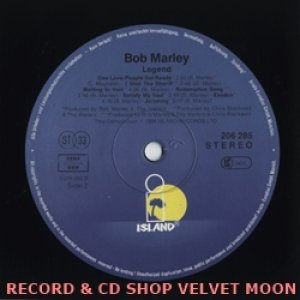 ボブ・マーリー&ザ・ウェイラーズ:BOB MARLEY & THE WAILERS / LEGEND the best of【LP】 ドイツ盤 ISLAND