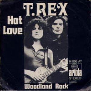 T.REX/HOT LOVE 【7inch】 GERMANY ARIOLA