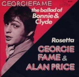 画像1: GEORGIE FAME/THE BALLAD OF BONNIE AND CLYDE // GEORGIE FAME & ALAN PRICE / ROSETTA 【7inch】 CBS HOLLAND