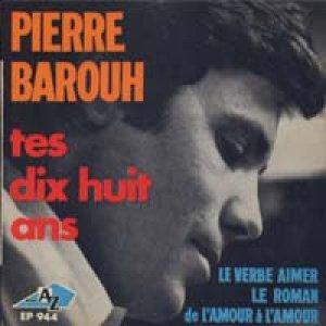 ピエール・バルー:PIERRE BAROUH / TES DIX HUIT ANS 【7inch】EP AZ FRANCE盤 ORG.