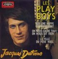 JACQUES DUTRONC / LES PLAY BOYS 【7inch】 EP FRANCE ORG.
