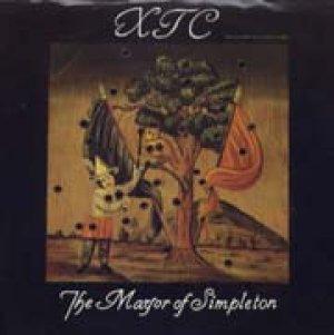 画像1: XTC/THE MAYOR OF SIMPLETON 【7inch】 US GEFFEN PROMO.