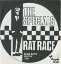 THE SPECIALS/RAT RACE 【7inch】 GERMANY CHRYSALIS