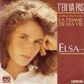 ELSA/T'EN VA PAS 【7inch】 FRANCE CARRERE