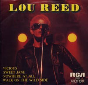 LOU REED/NOWHERE AT ALL 【7inch】 オーストラリア盤