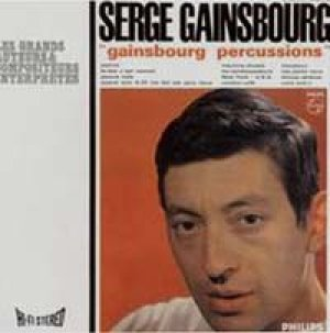SERGE GAINSBOURG / GAINSBOURG PERCUSSIONS 【LP】 FRANCE盤 限定ナンバー入り
