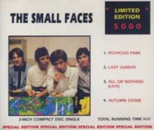 スモール・フェイセス:THE SMALL FACES / ITCHYCOO PARK 【3inch・CD SINGLE】 LTD.5000 フランス盤 CASTLE