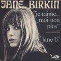JANE BIRKIN/JE T'AIME MOI NON PLUS 【7inch】 FRANCE DISC AZ