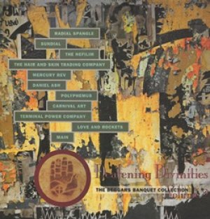 V.A./DEAFENING DIVINITIES WITH AURAL AFFINITIES 【LP】 UK BEGGARS BANQUET