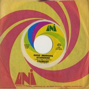 画像1: STRAWBERRY ALARM CLOCK/GOOD MORNING STARSHINE 【7inch】 US UNI ORG.