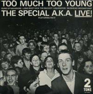 画像1: THE SPECIALS/LIVE! TOO MUCH TOO YOUNG  【7inch】 UK 2TONE
