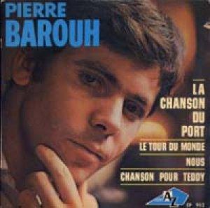 ピエール・バルー:PIERRE BAROUH / LA CHANSON DU PORT 【7inch】 EP AZ FRANCE盤 ORG..