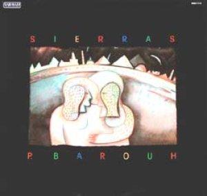 ピエール・バルー:PIERRE BAROUH / SIERRAS 【LP】 FRANCE盤 SARAVAH