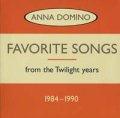 ANNA DOMINO / FAVORITE SONGS 1984-1990 【CD】 CANADA盤 ORG. LTD DIGIPACK 廃盤