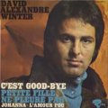 デヴィッド・アレキサンドル・ウィンター:DAVID ALEXANDRE WINTER/C'EST GOOD BYE 【7inch】EP FRANCE ORG.