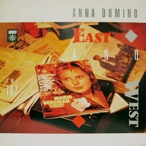ANNA DOMINO / EAST AND WEST 【MINI LP】 ベルギー盤 CREPUSCULE ORG.