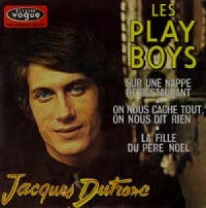 画像1: JACQUES DUTRONC/LES PLAY BOYS 【7inch】EP FRANCE ORG.